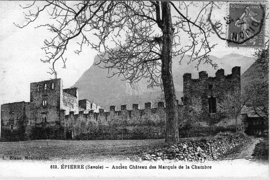 Château d'Epierre vers 1910