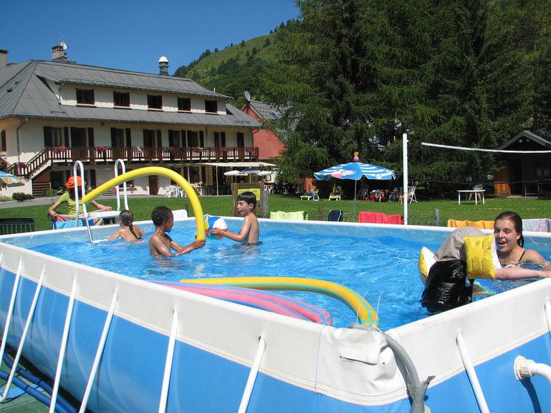 Extérieur été et piscine