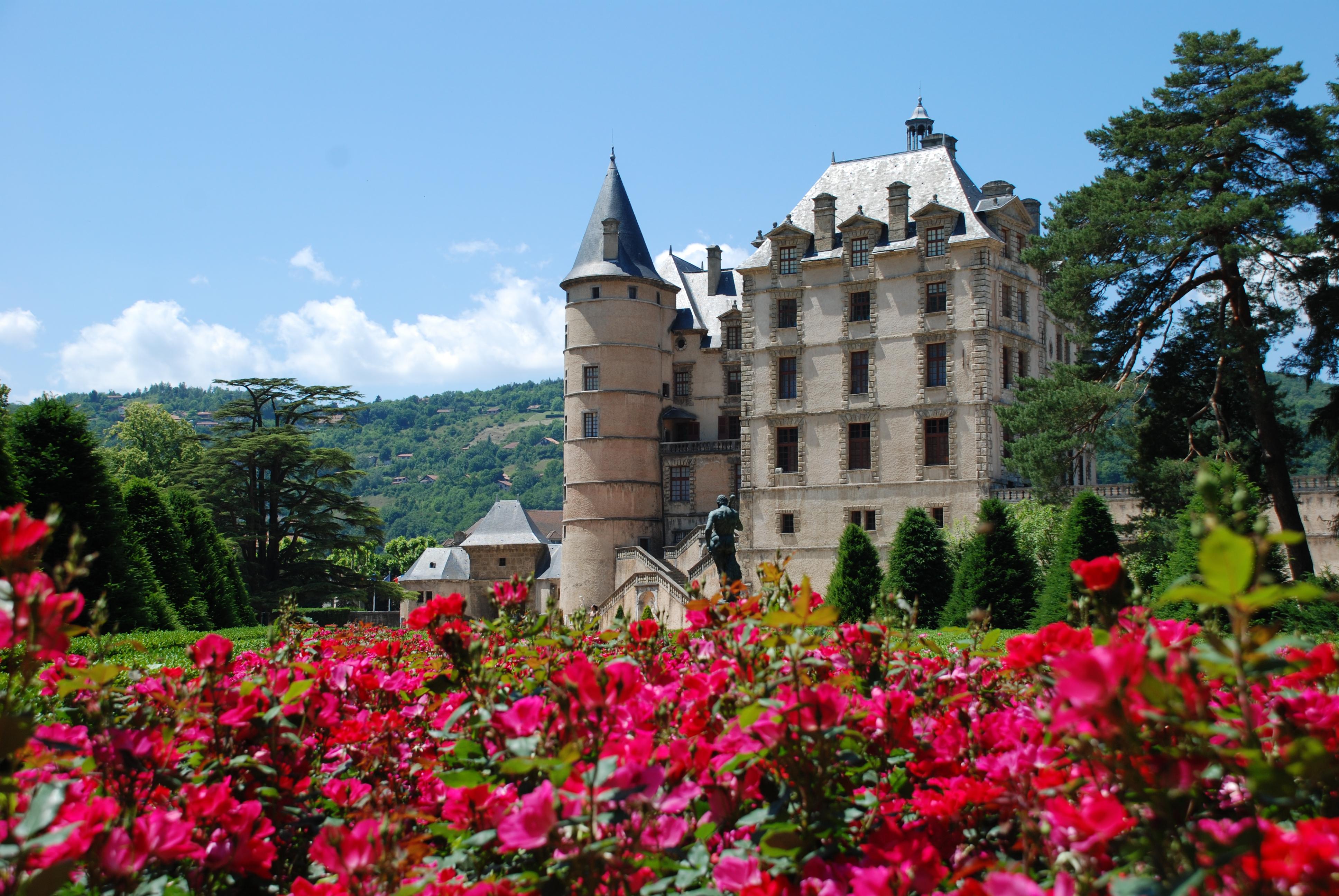 Château et Roseraie