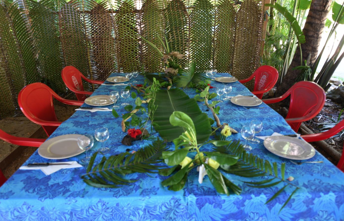 Table d'hôte du Relais Ouane Batch