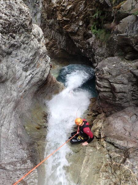 Canyon Aventure Les Oules de Freissinière intégral - Canyon River Trip - Office de Tourisme de Montgenèvre