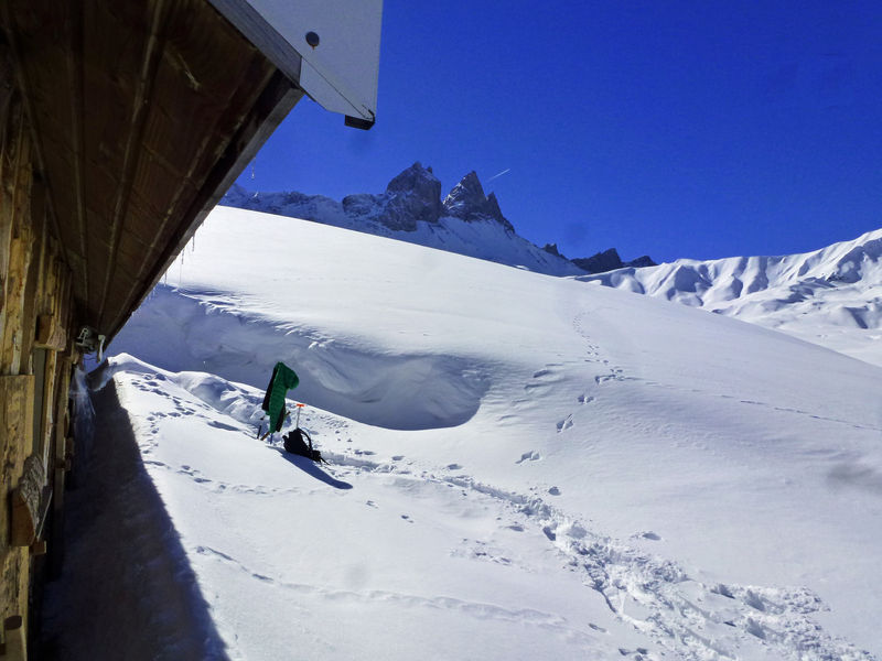 La randonnée Fondue au chalet d'alpage au soleil couchant