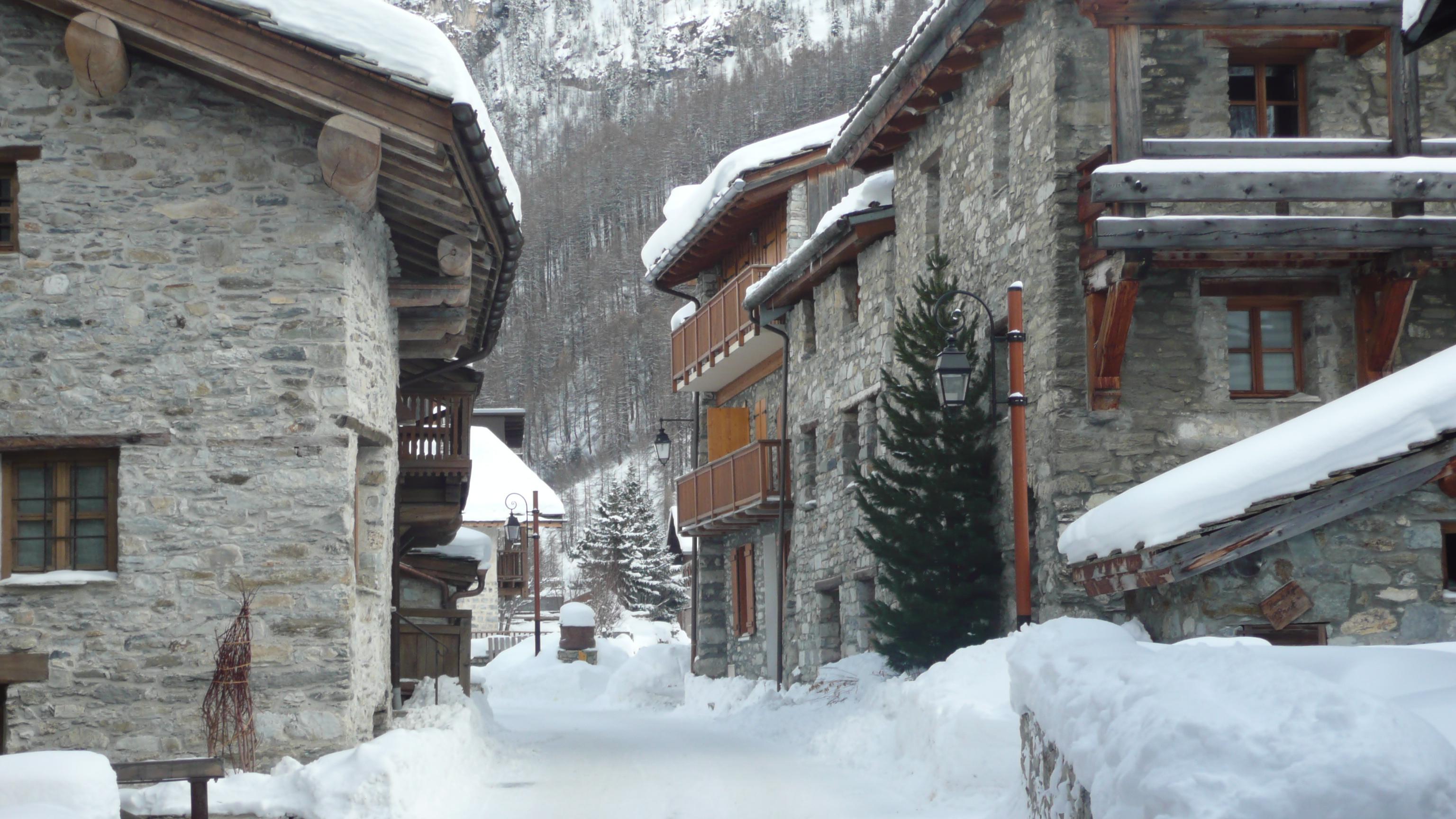 Il était une fois Noël à Val d'isère : visite guidée