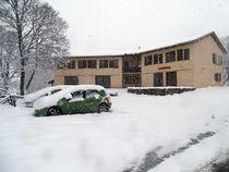 l'extérieur l'hiver - ©chaletducombeynot