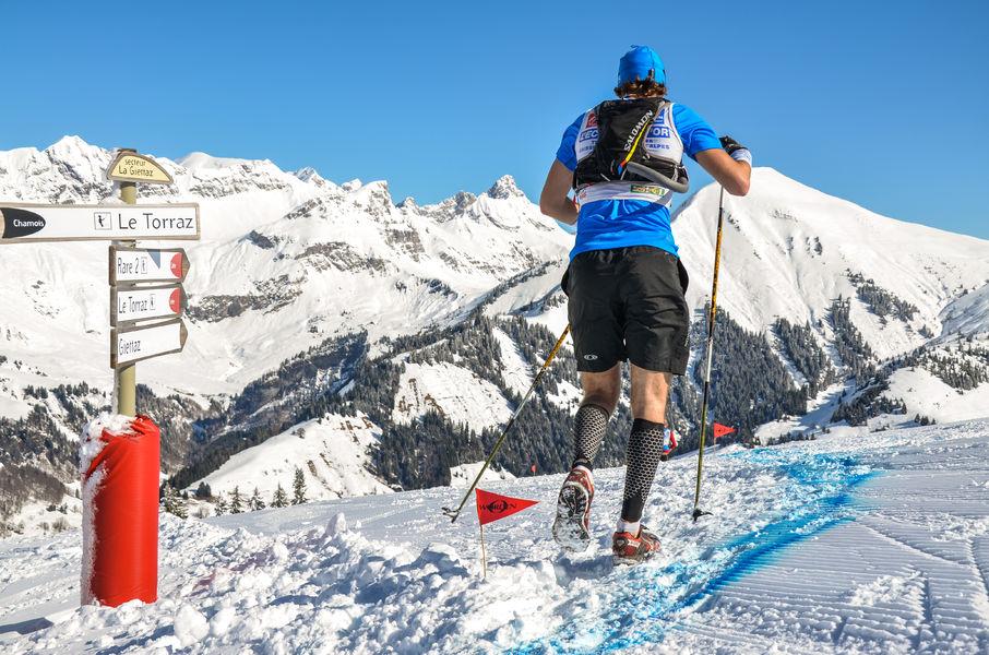 6éme Aravis Snow trail