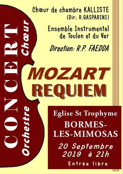 Concert Mozart requiem