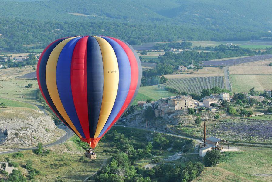 Vol en montgolfière au pays de Forcalquier