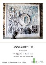 Exposition d'Anne Grenier - Beauchastel
