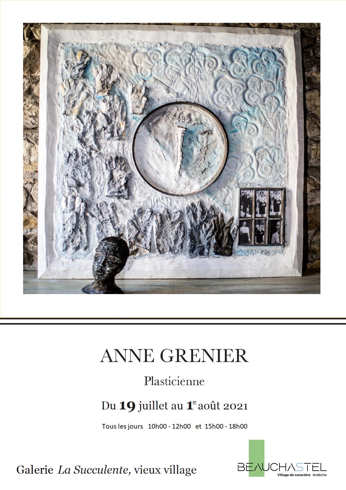 Rendez-vous futés ! : Exposition d'Anne Grenier