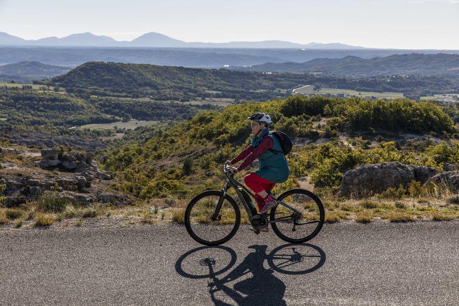 Cyclotourisme dans le Pays de Forcalquier Montagne de Lure