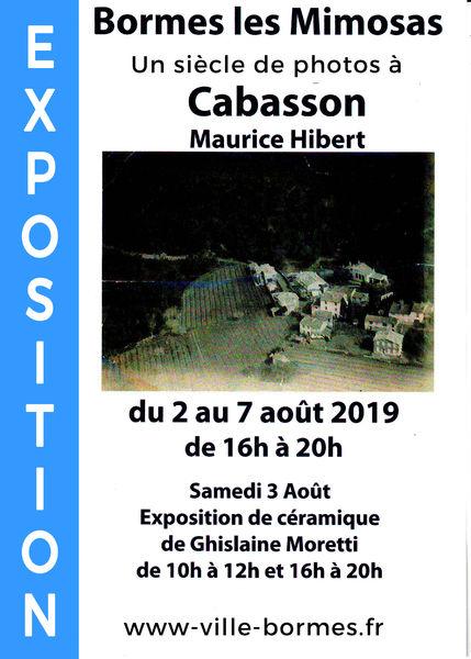 Exposition De photographies et céramiques des artistes Hibert et Moretti