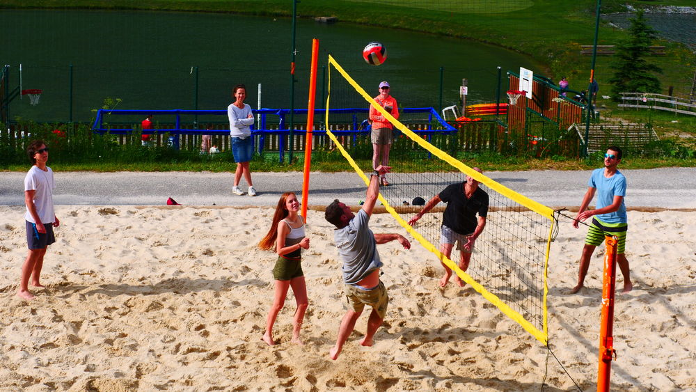 Beach Volley Montgenèvre - Beach Volley Montgenèvre - Office de Tourisme de Montgenèvre