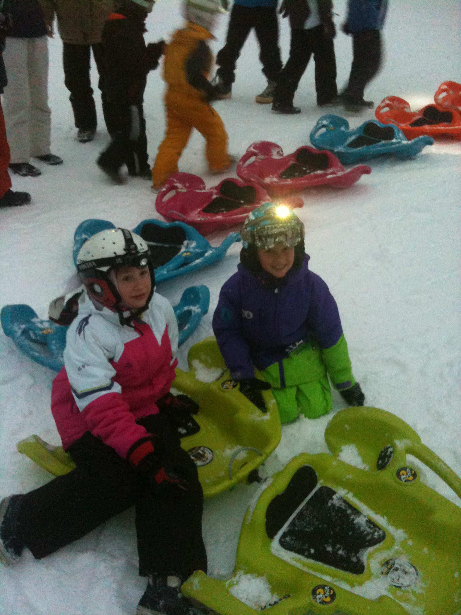Snake Slide High Altitude Resorts La Plagne La Plagne