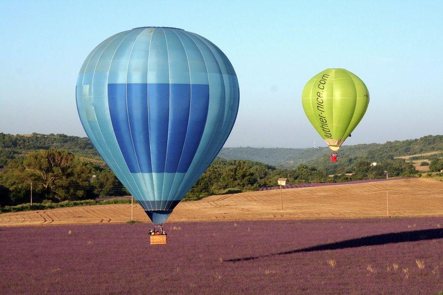 Découvrir la Provence en montgolfière