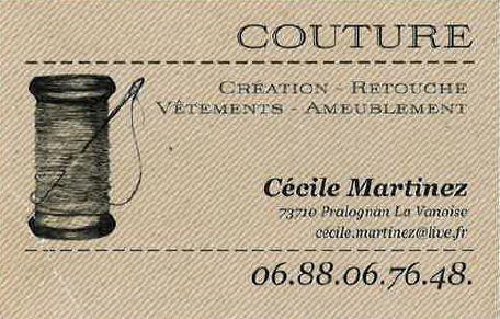 Cécile Martinez - Retouches et couture