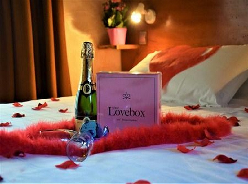 Love box et champagne