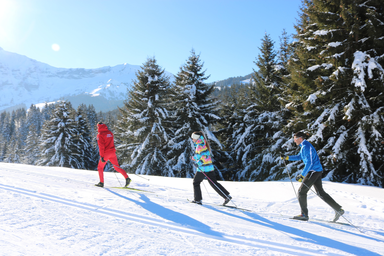 Engagement en ski de fond