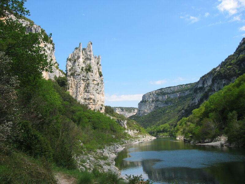 Réserve naturelle des Gorges de l'Ardèche - Saint-Remèze