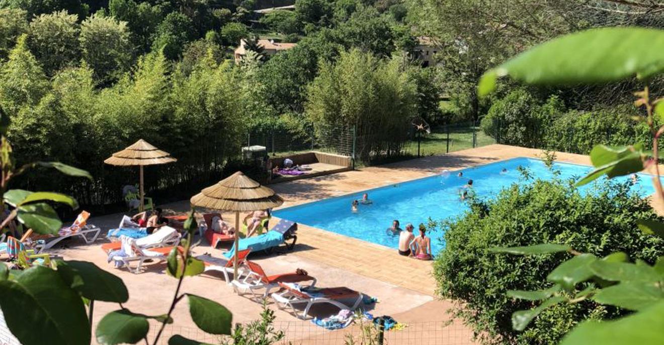 Camping sites : Mas de Champel Campsite