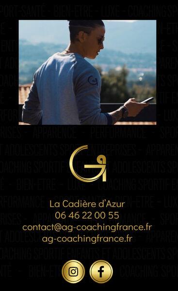 AG Coaching France - Flyer - Aurore Gairoard
