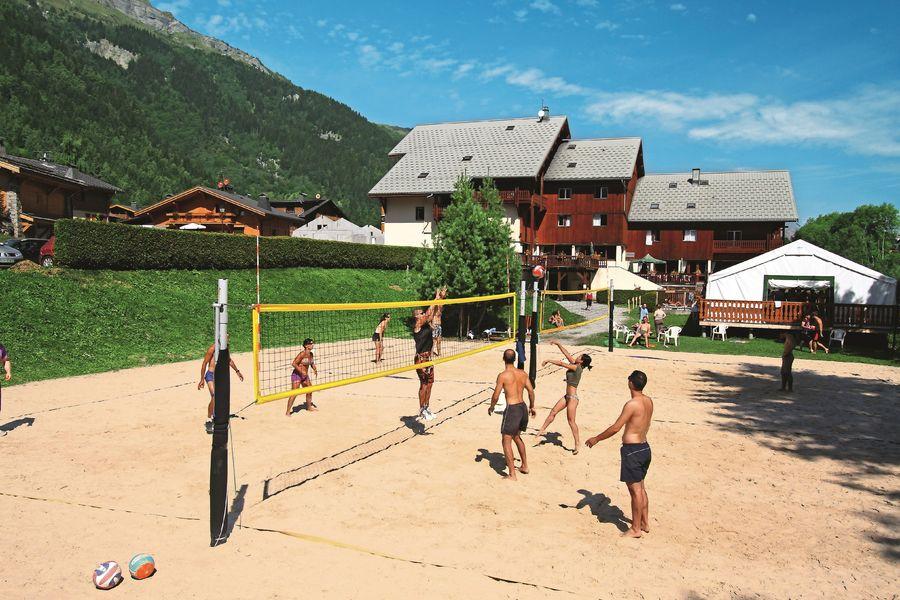 Les terrains de beach volley