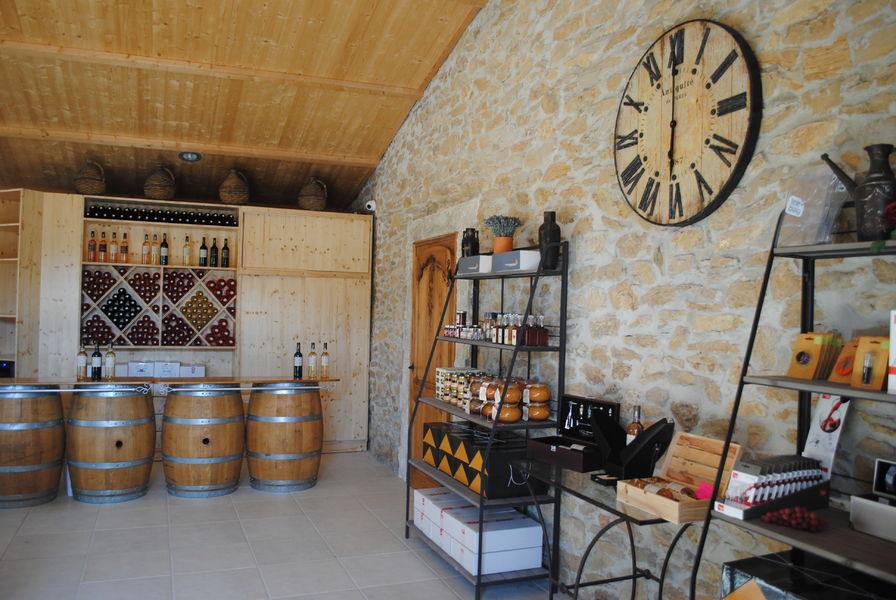 Lou Capelan Vineyard - Wine-tasting & selling room - David Silvestri