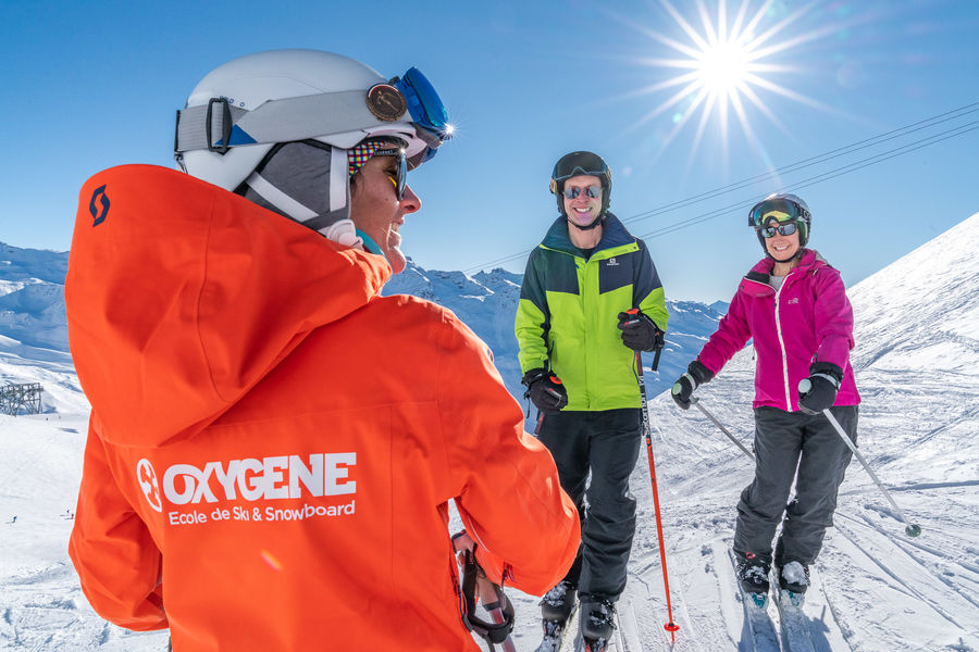 Oxygene ski lessons