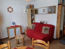 Studio dans résidence - Le séjour