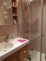Studio dans résidence - La salle d'eau