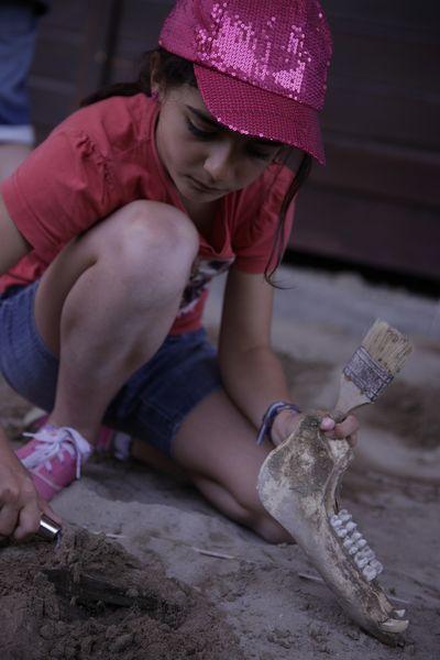 stage de géo-archéologie pour enfants