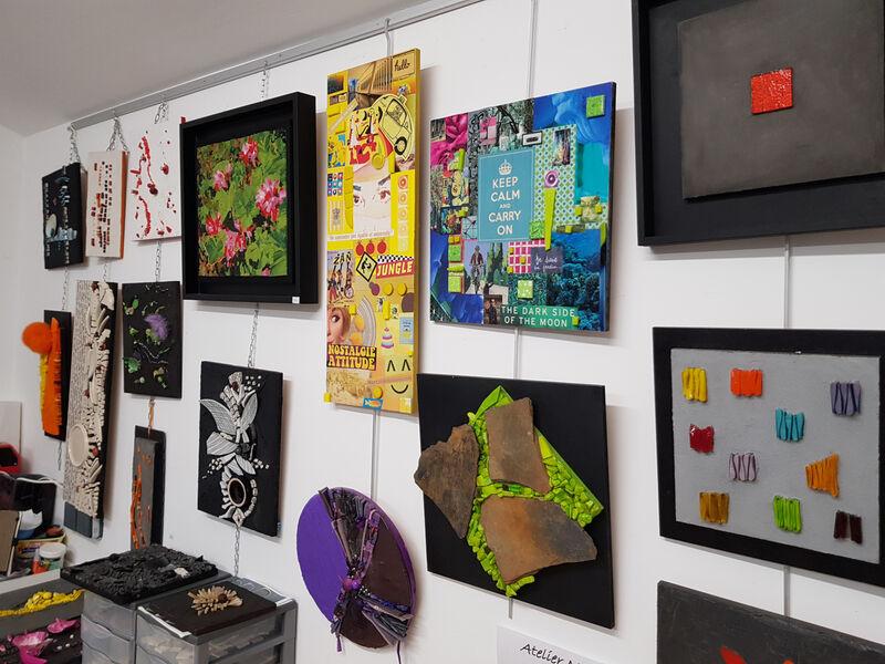 exposition oeuvres Marais Création