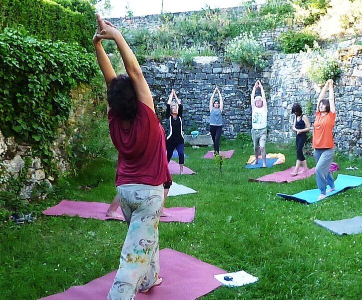 Été yoga : Séances