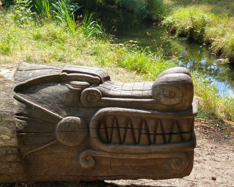 Sculpture du dragon - Stéphane Beau
