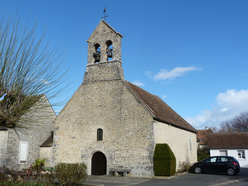 Eglise saint Marie Madeleine à la Madeleine-sur-Loing