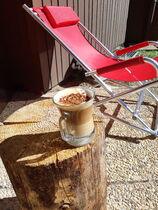 Studio dans résidence - La terrasse