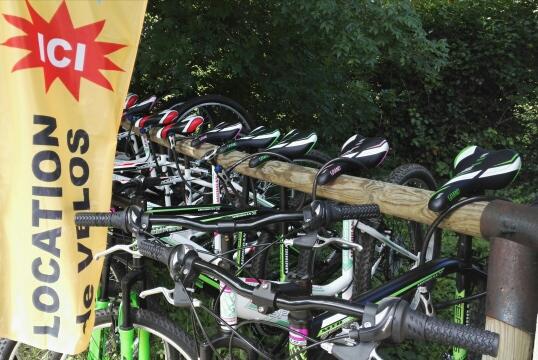 Ardèche Camping : Location de vélos