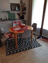 Studio dans résidence - La kitchenette