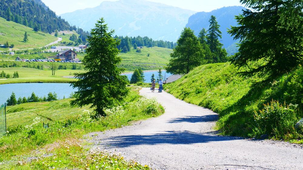 Balades et Randonnées - La Transfrontalière - Balades et Randonnées - La Transfrontalière - Office de Tourisme de Montgenèvre