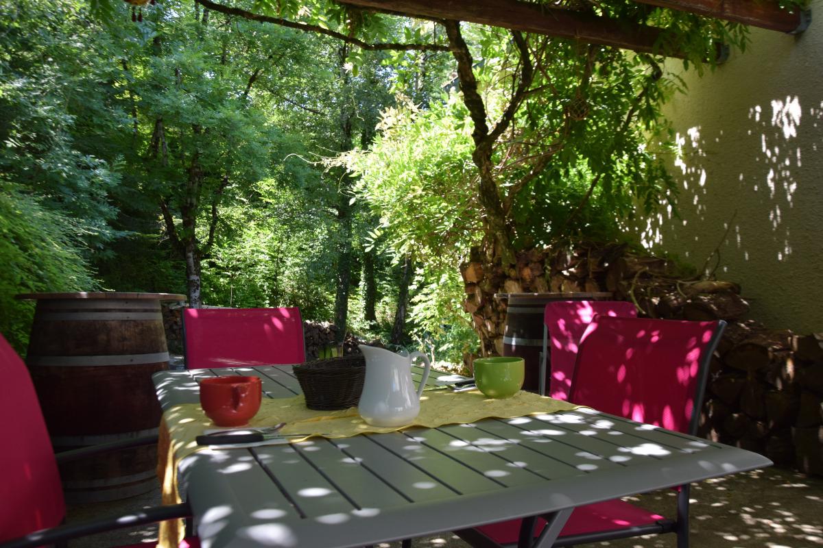 table terrasse CH Orée des Bois