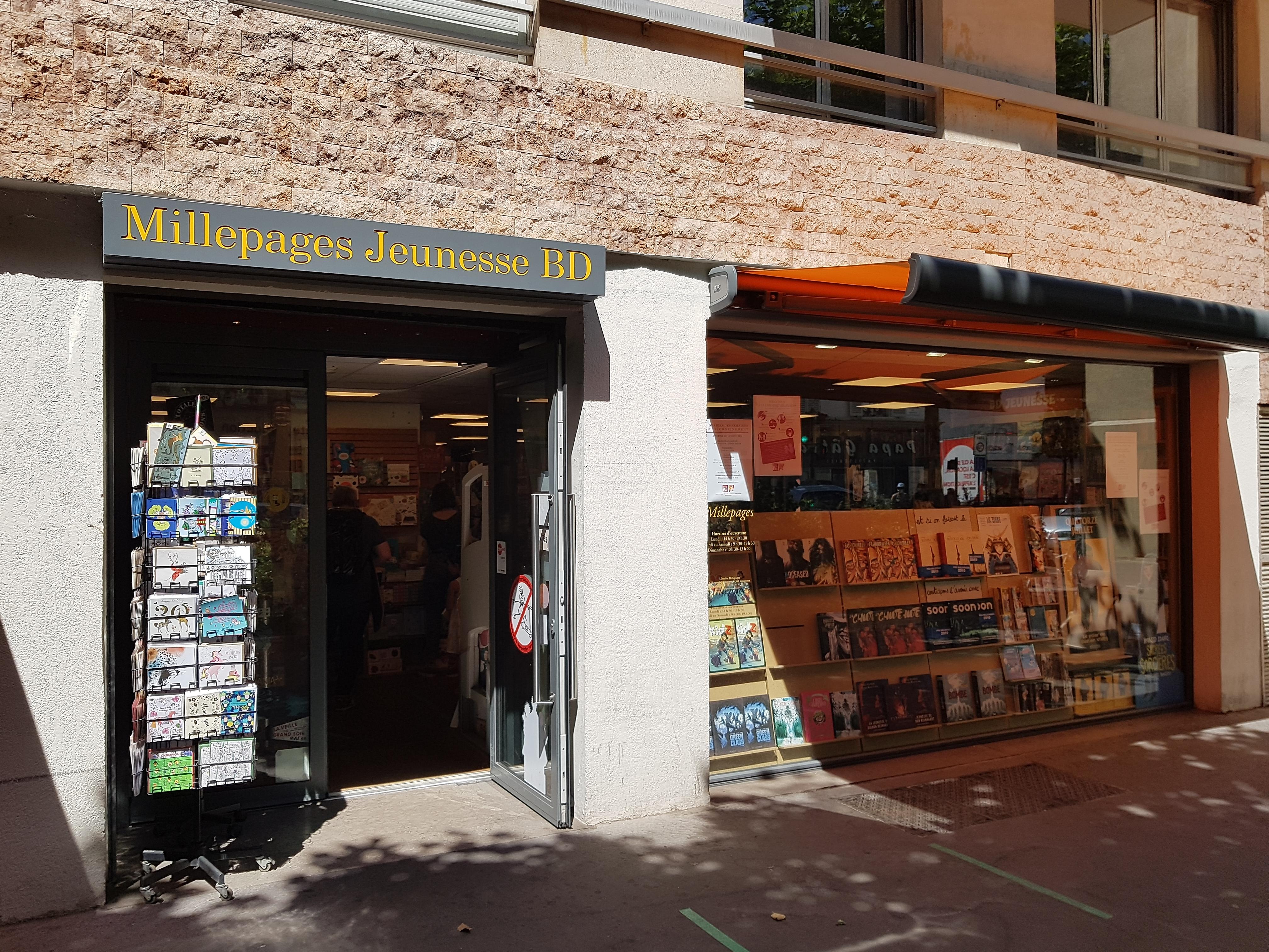 Librairie Millepages Jeunesse