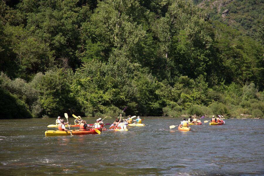Base de Canoë Kayak et Paddle Ambialet