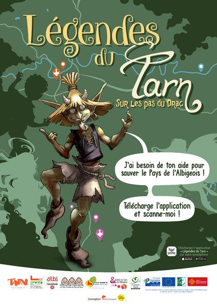 Jeu Les Légendes du Tarn - Application gratuite