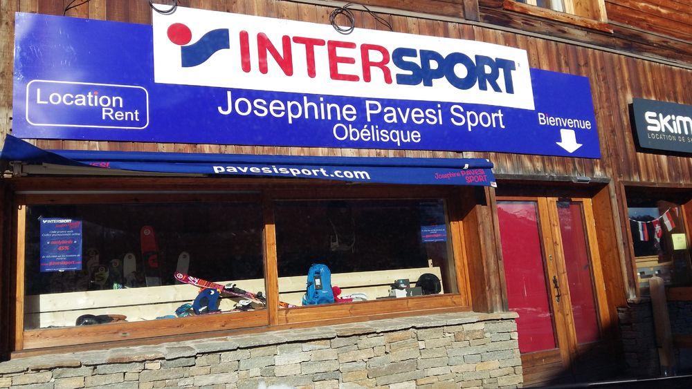 Intersport Joséphine Pavesi - Obelisque - Intersport Joséphine Pavesi - Obelisque - Intersport Joséphine Pavesi - Obelisque