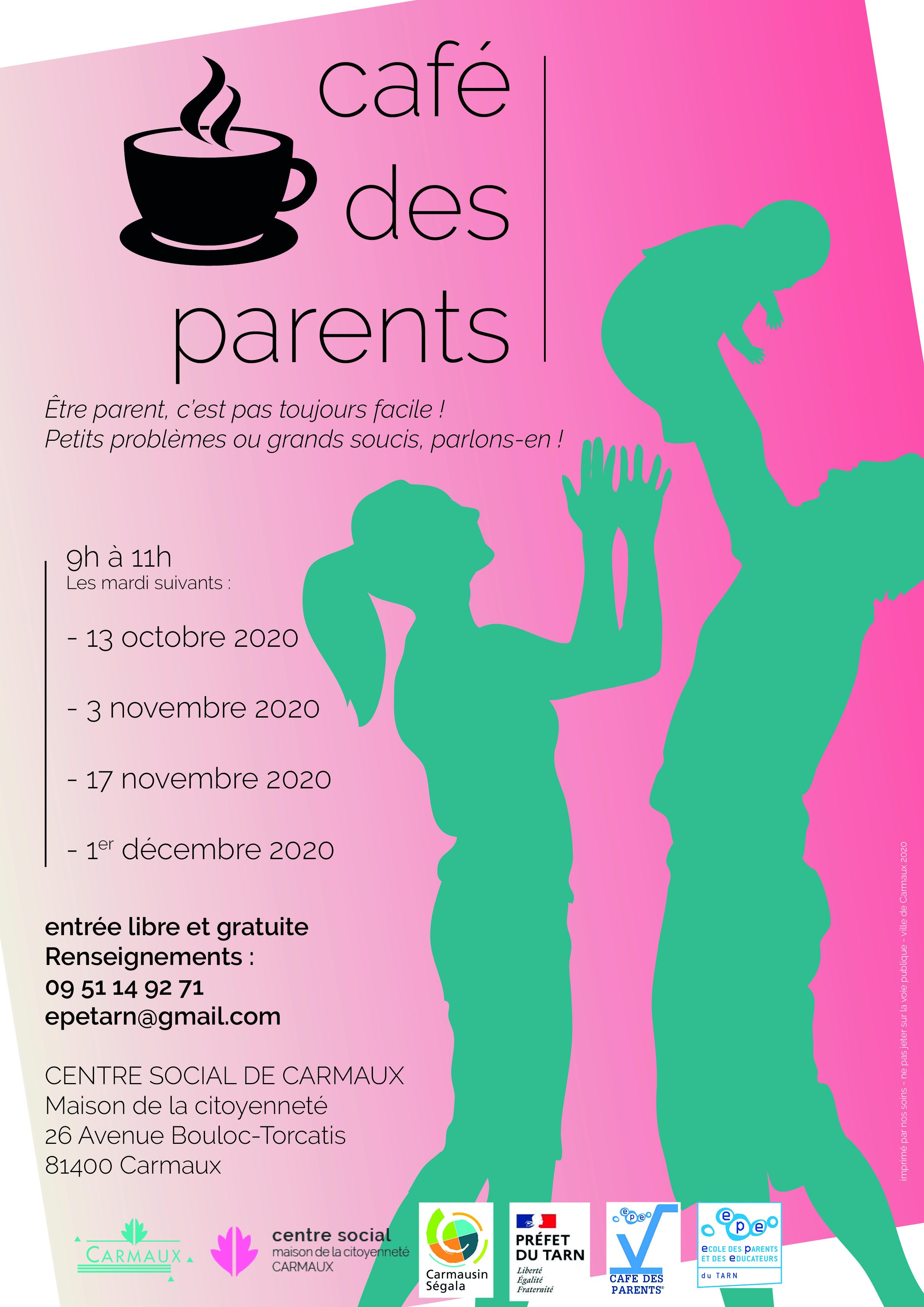 Illustration de MAINTENU - Café des parents