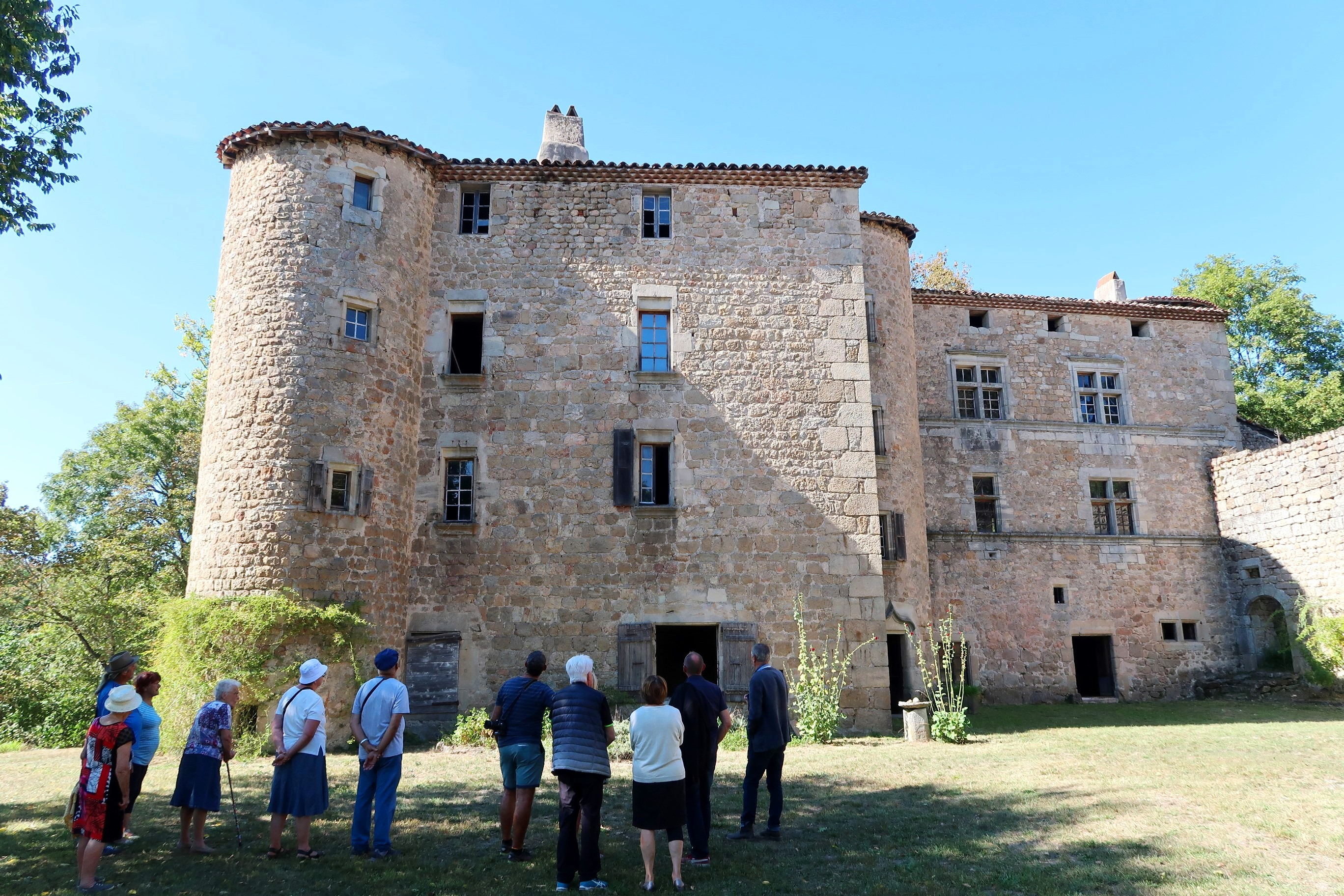 Rendez-vous futés ! : Journées européennes du patrimoine : visite commentée du Château de Vaussèche