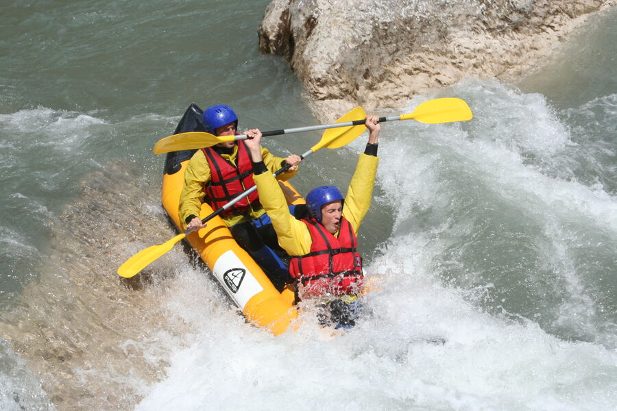 Séjour aventure eau vive et nature en camping