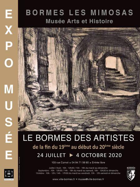 Exposition Le Bormes des Artistes