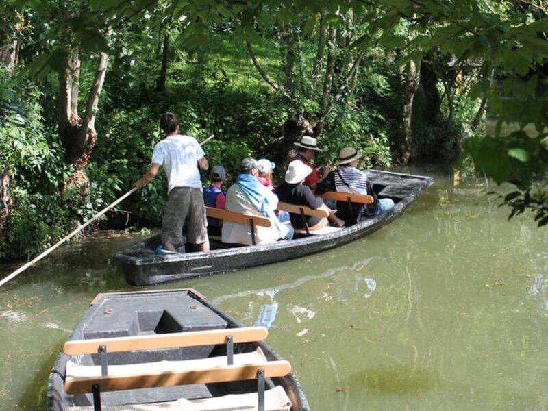 Balade en barque avec guide