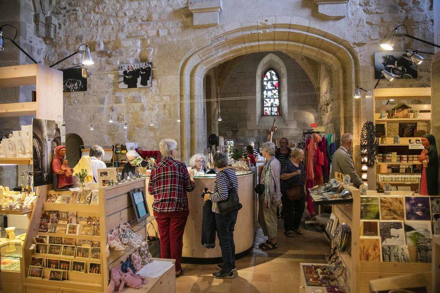Boutique d'artisanat monastique