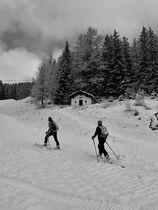 Arrivée ski de rando Marquises